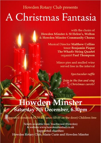 A Christmas Fantasia: Sat 7th December | 6.30pm | 201912071830: Adults